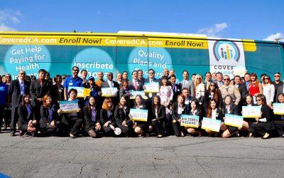 加州全保宣導巴士到哈崗 專訪華興保險
