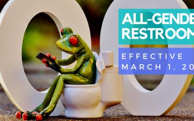 3月1日起「性別中立」廁所法案生效 商業與公共單位要注意!