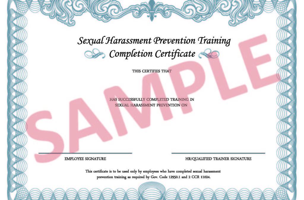 職場性騷擾防治訓練